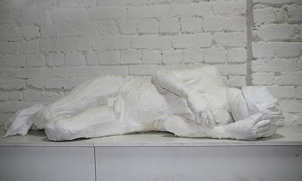 sculpture LONELINESS